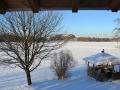 Blick aus Birnbaum Wohnung Winter